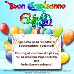 Buon Compleanno Gabì!