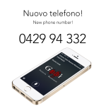 Arriva il nuovo numero di telefono!