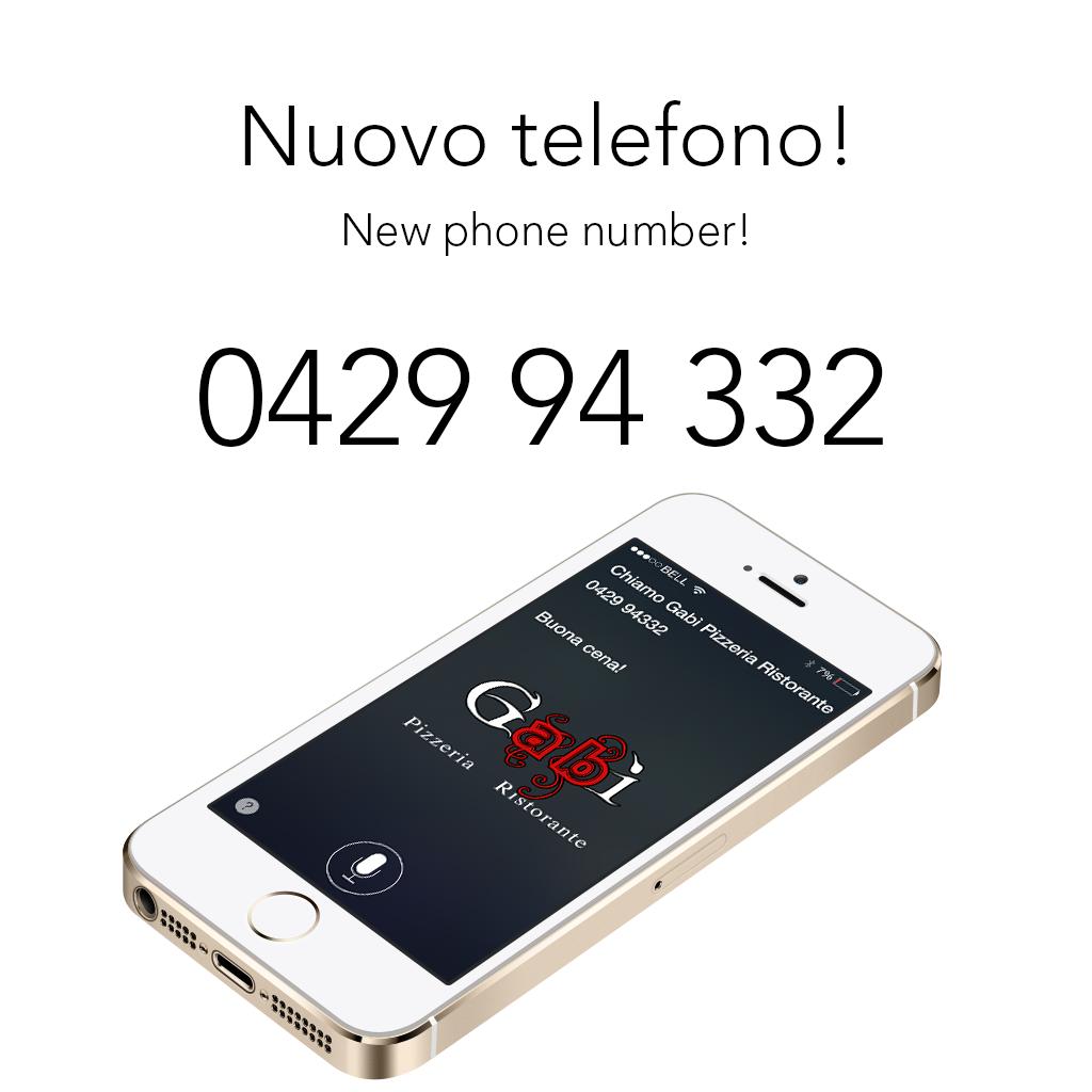 Arriva il nuovo numero di telefono gab pizzeria ristorante - Numero di telefono piscina ortacesus ...